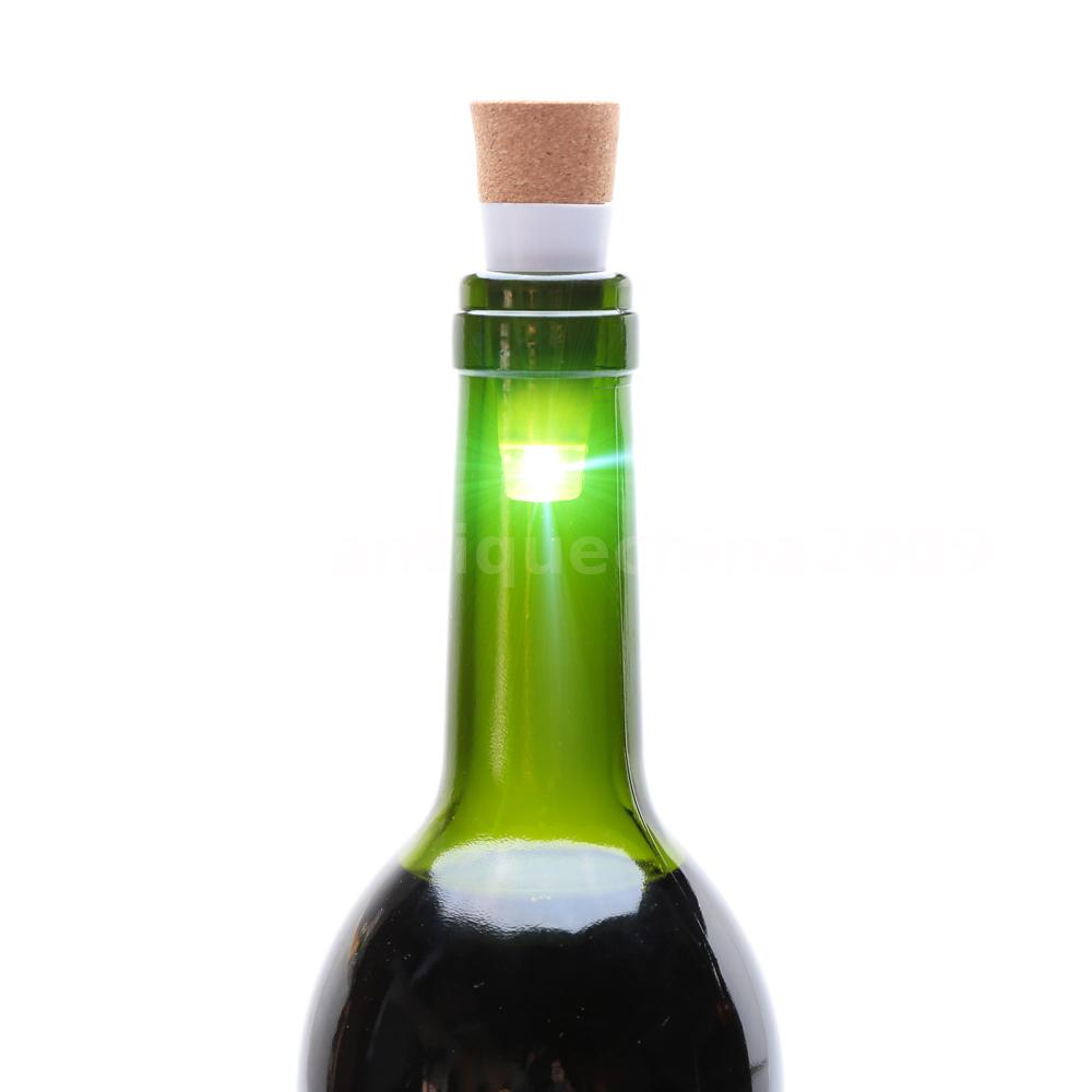 how to get lights in a wine bottle