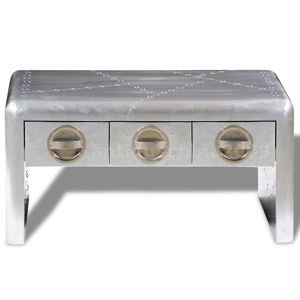This High Quality Aviator Coffee Table Can Be Placed In Any Room Thanks To The Sleek And Compact Design It Also Used As A Side
