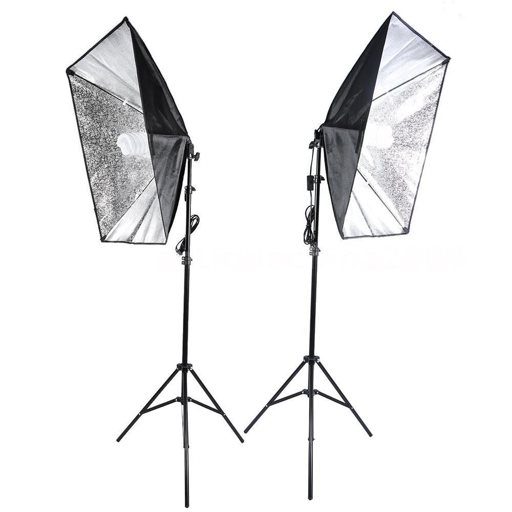 Studio Continuous Lighting Vs Flash: Photo Studio Continuous Photo Video Light Softbox Lighting