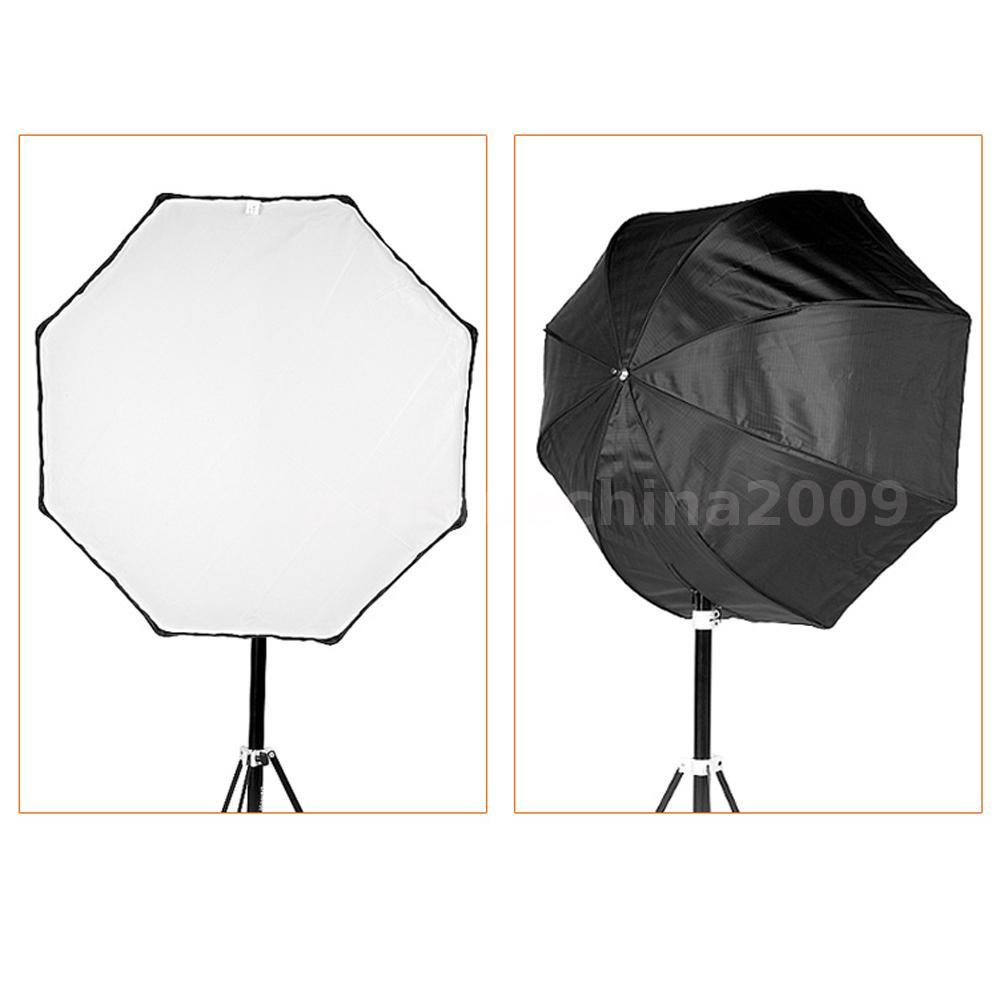 """Octagon Umbrella Speedlite Softbox: Godox120CM 48""""Octagon Umbrella Flash Softbox Reflector"""
