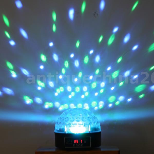 Mini Led Rgb Crystal Ball Effect Light Dmx Disco Dj Stage