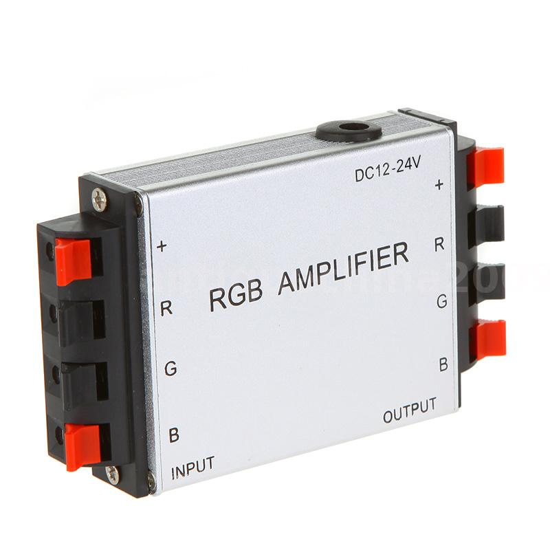 High Output Smd 5050: DC 12V 9A 3CH LED RGB Signal Amplifier For SMD 5050 3528