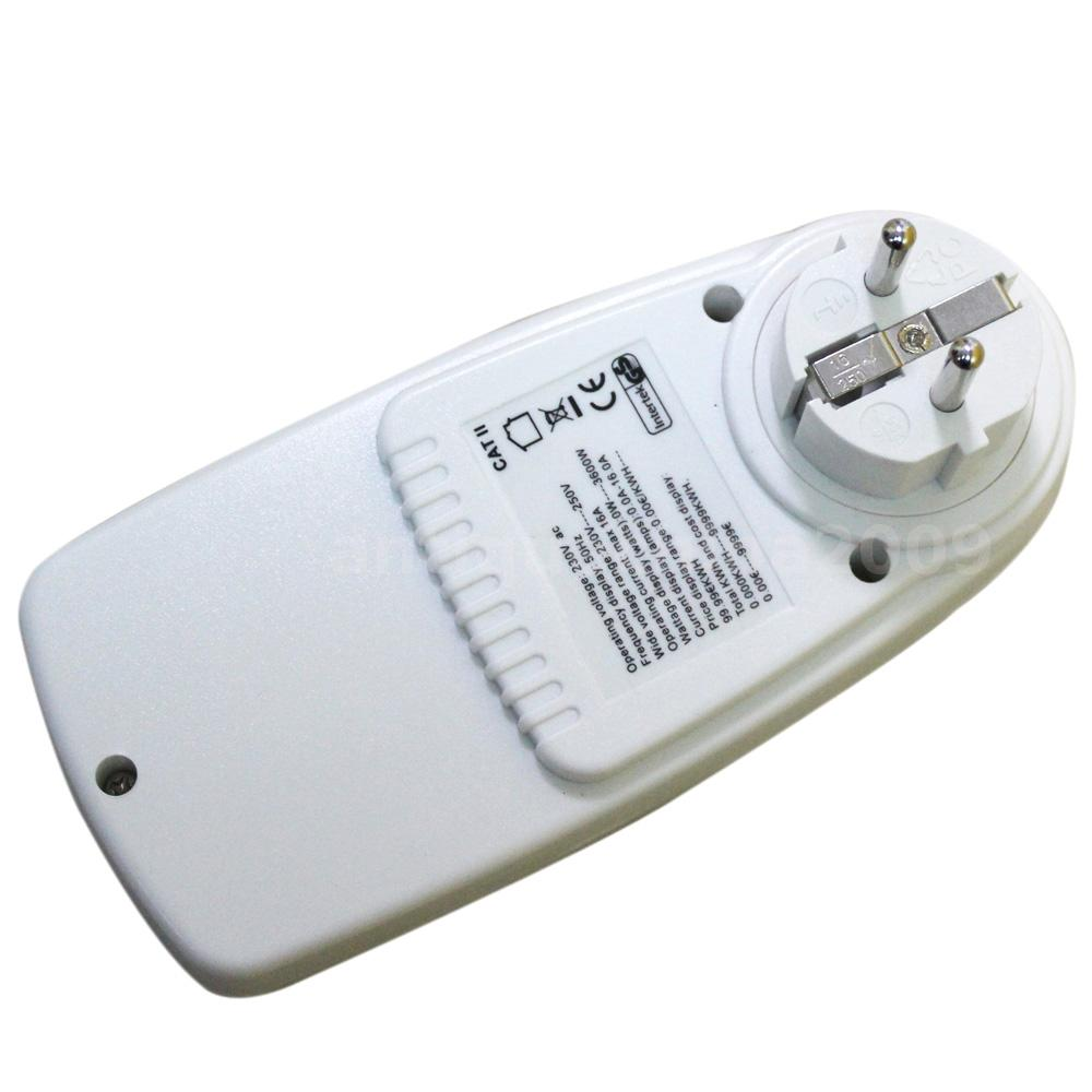 Electric Power Detector : Electric power meter energy saving monitor watt socket