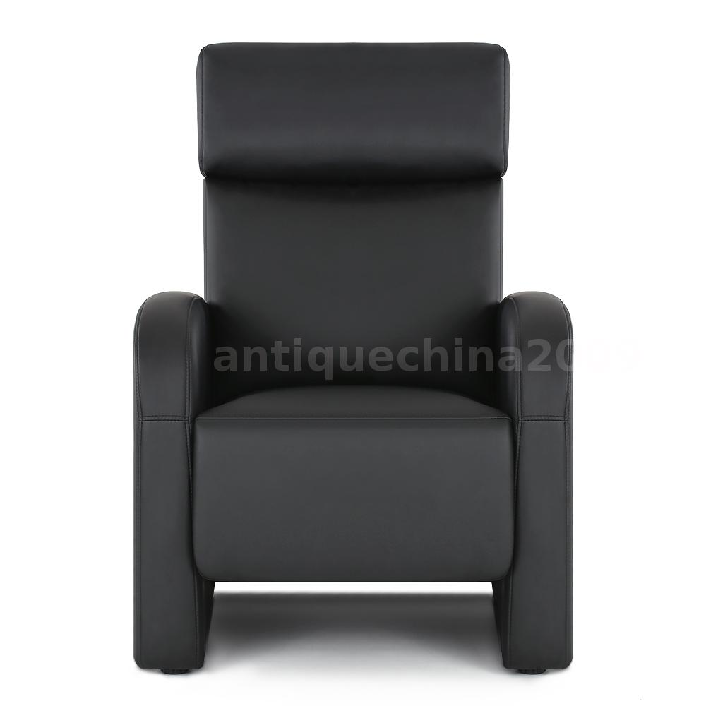 Padded push back chair lounger lounge recliner lazy boy for Boys lounge chair