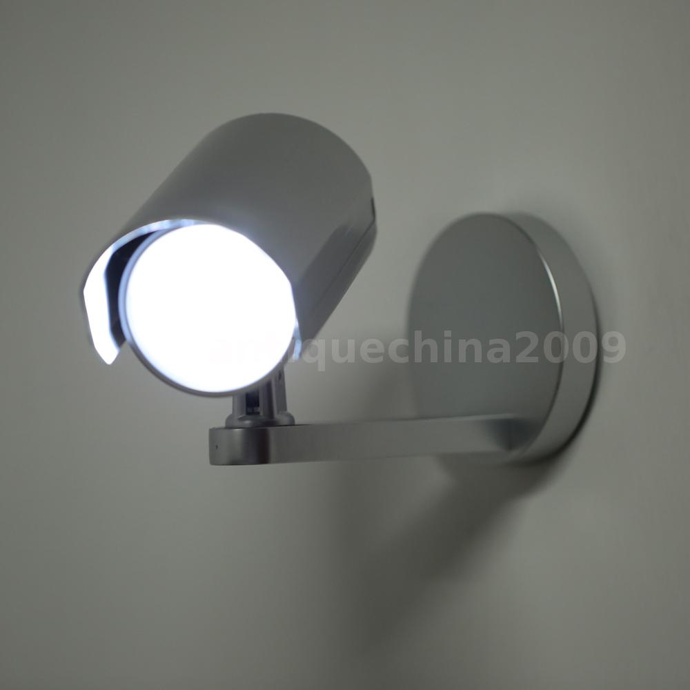 Indoor Wall Light With Pir Sensor : 6LED Rotatable PIR Motion Activated Indoor Sensor Light Security Wall Lamp R8D0 eBay