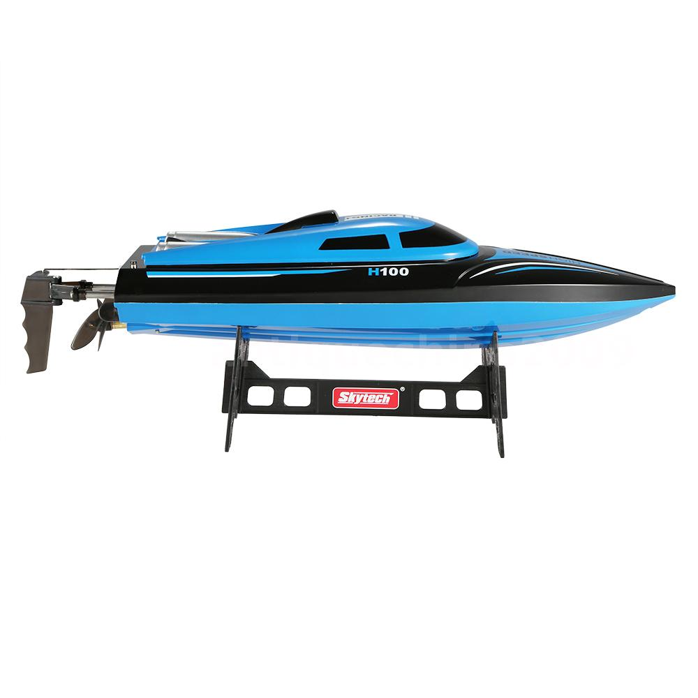 skytech h100 2 4ghz 4ch high speed racing boat rc mini. Black Bedroom Furniture Sets. Home Design Ideas