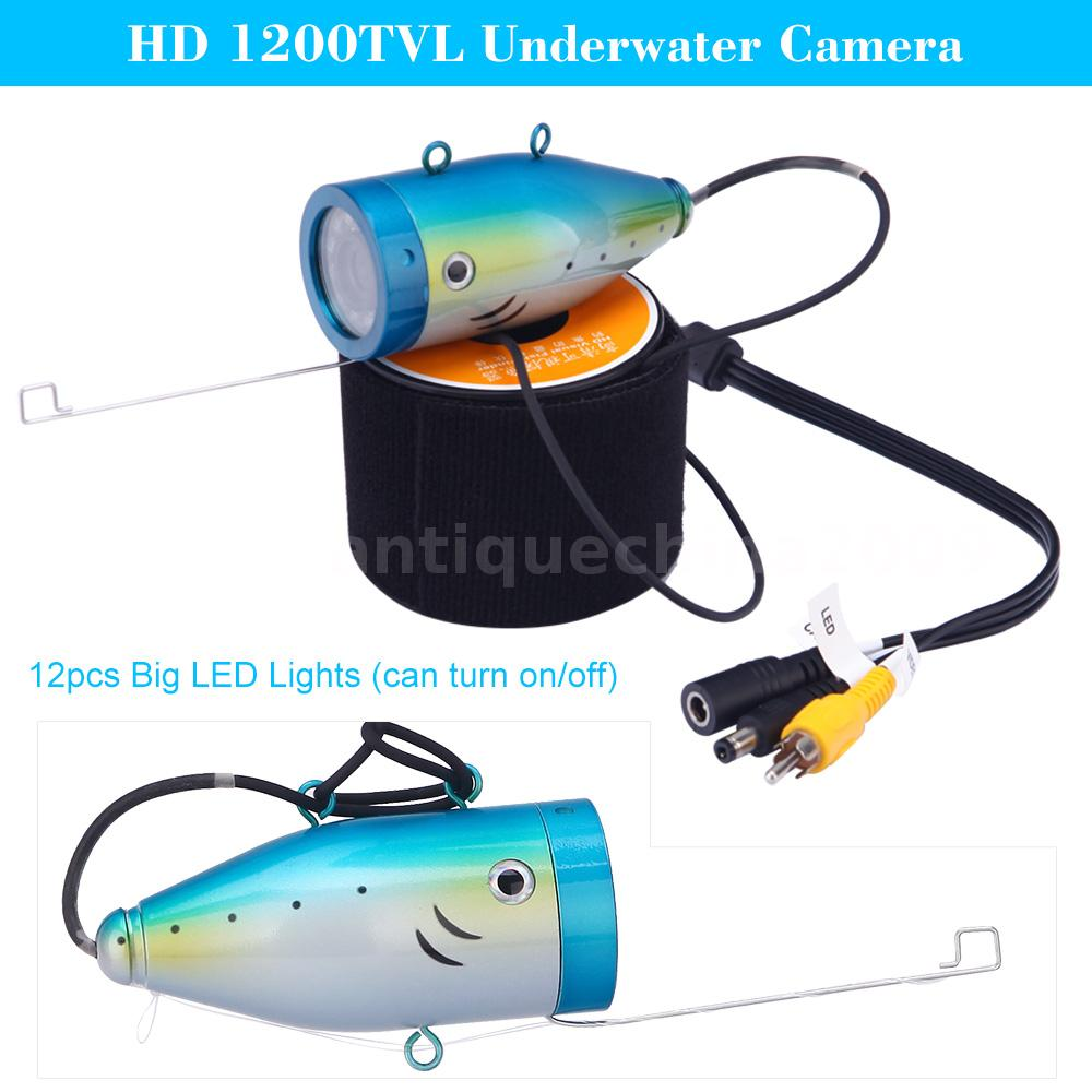 Underwater Fish Finder 15m Hd 1200tvl Cctv Camera For