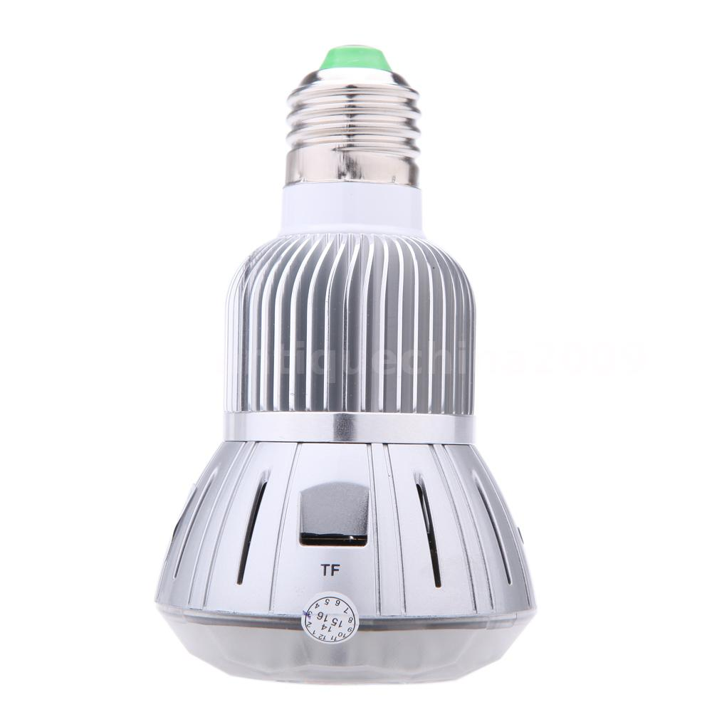 Led Lighting For Camera Phones Tablet Full Hd Do 500 Zl Smonet Wireless Hd Camera Cctv Security Kit Hd Tv Shows Stream: LED Bulb Hidden HD 1080P Wifi Home Security Camera For