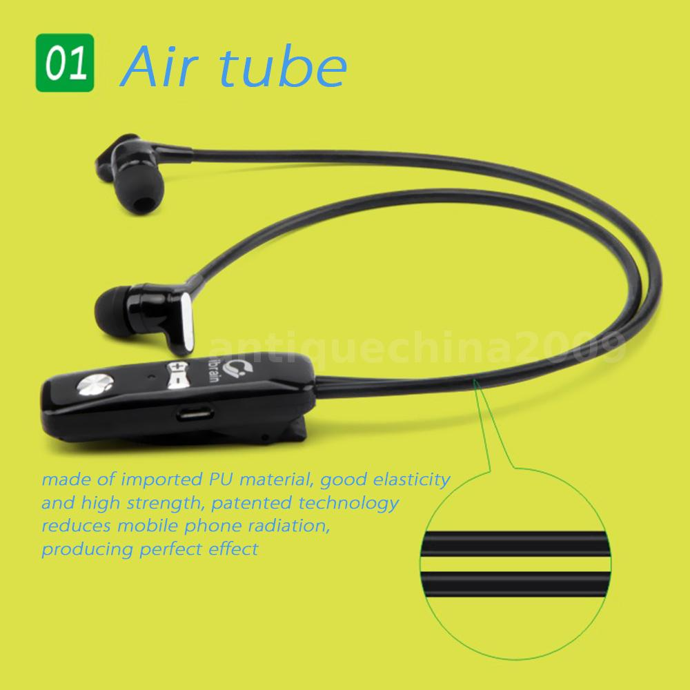 kangdao fs05 wireless bluetooth air tube sport music headset headphone mic ebay. Black Bedroom Furniture Sets. Home Design Ideas