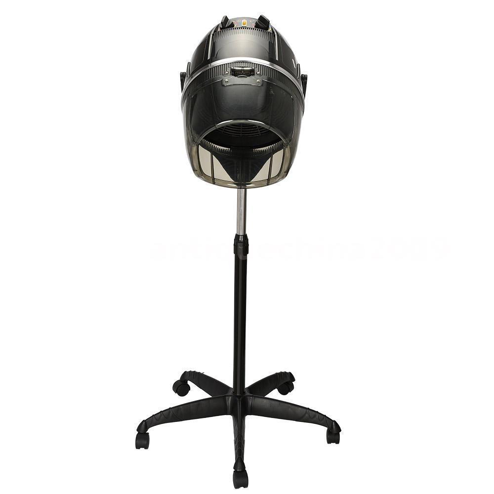 Standing Rolling Salon Hair Blow Dryer Bonnet Hood Stand ...