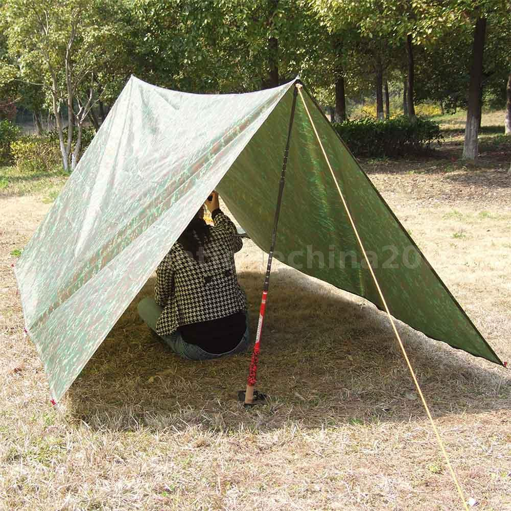 Tarp Tents For Backpacking : Lightweight camping awning tarp trail tent sun shade